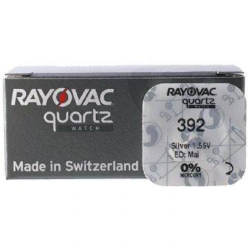 Rayovac 392 SR41W 1.5V Silver Oxide Watch Battery